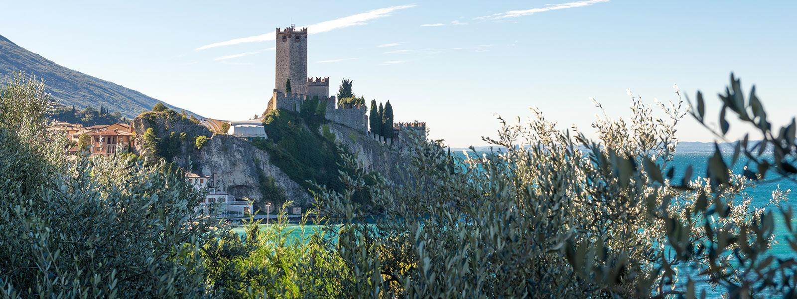 Malcesine Castle Gardasee Ferienwohnung