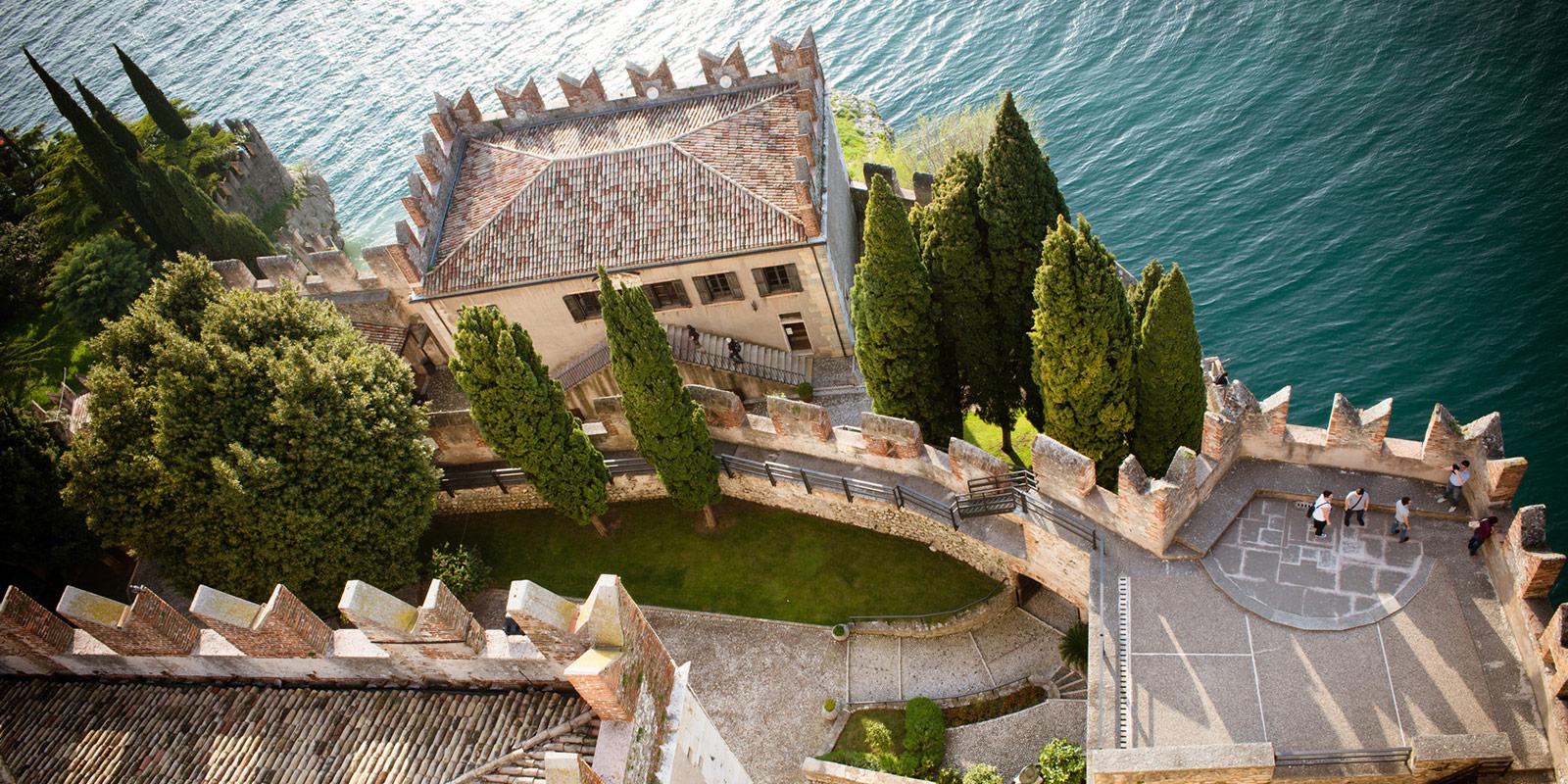 Malcesine Gardasee Castle